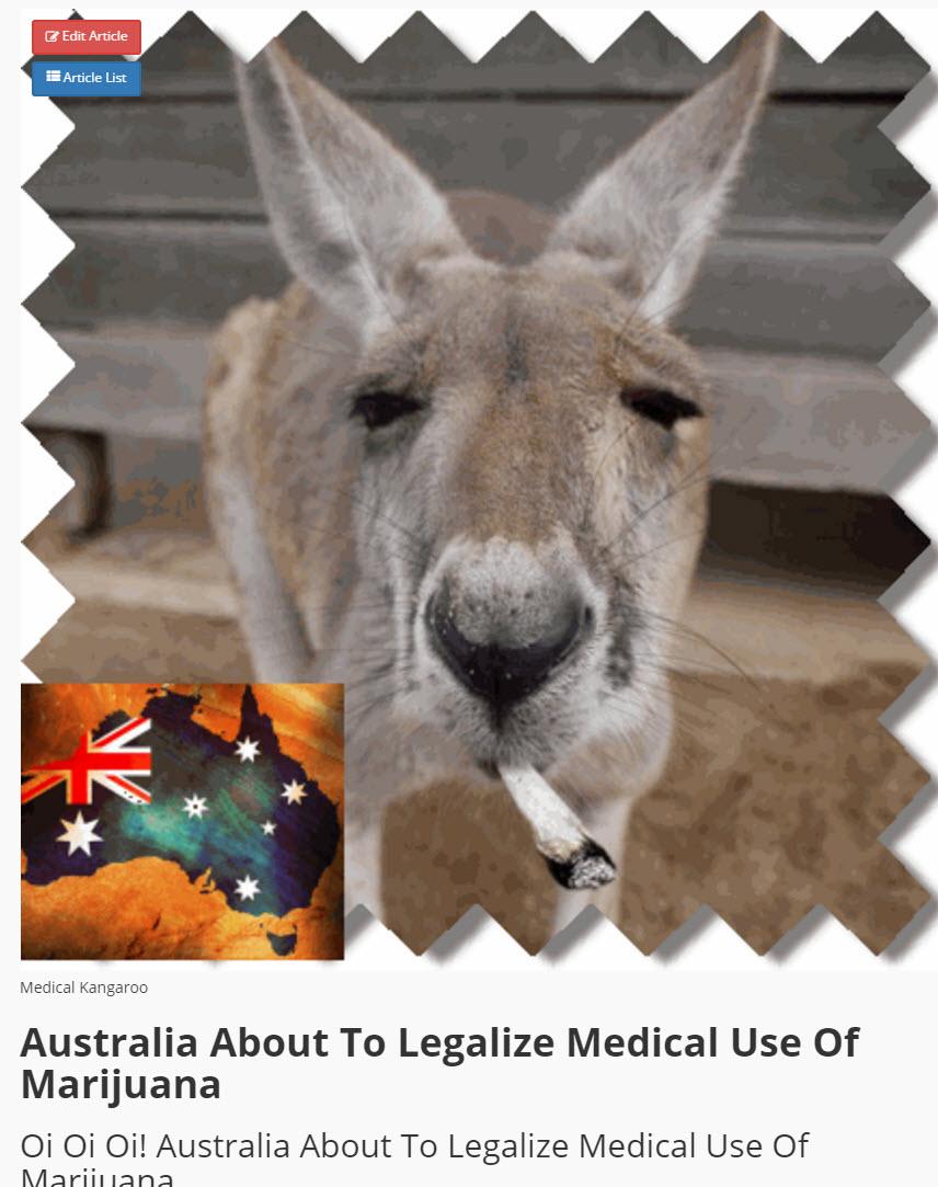 AUSTRALIA CANNABIS LAWS