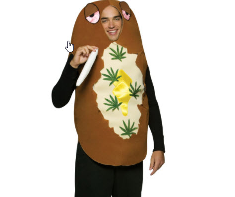 baked potatoe costume
