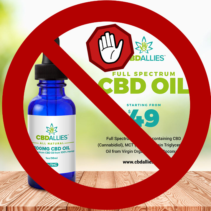 ban on cbd oil ads
