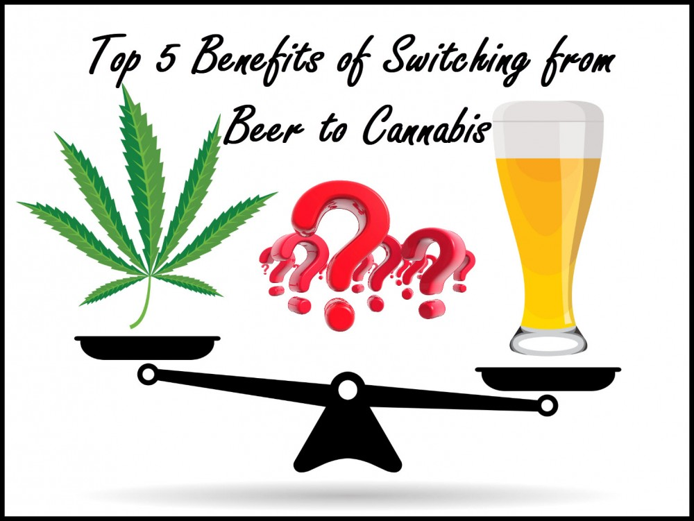 cannabis for beer