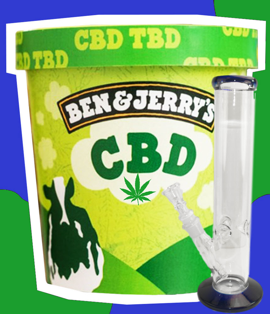 benjerrycbdicecream - Ben & Jerry's CBD Ice Cream and Other Fun Future Cannabis Products in the Pipeline