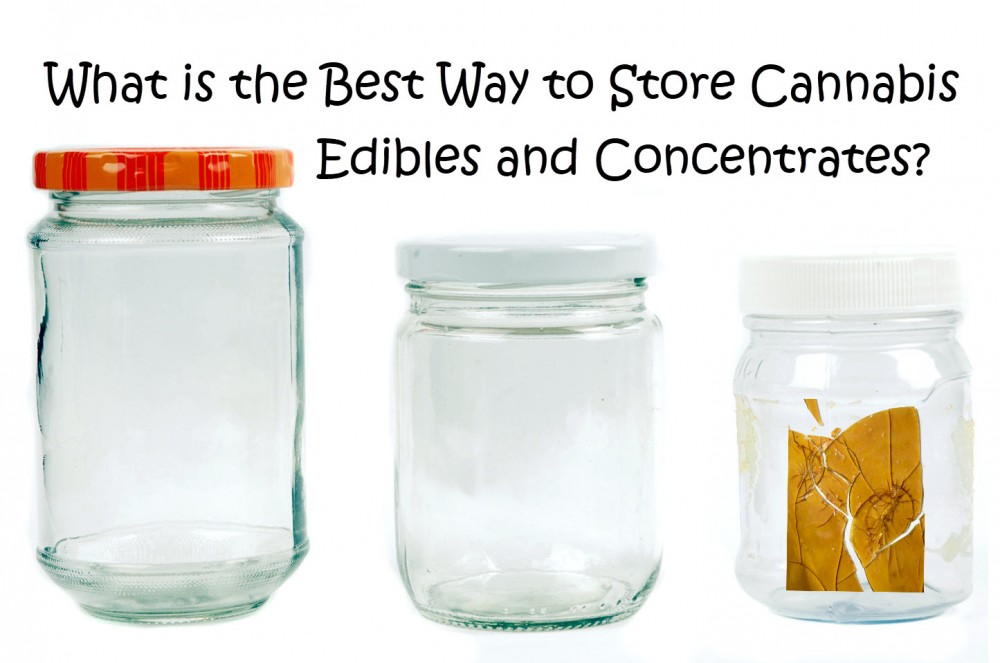 best ways to store concentrates