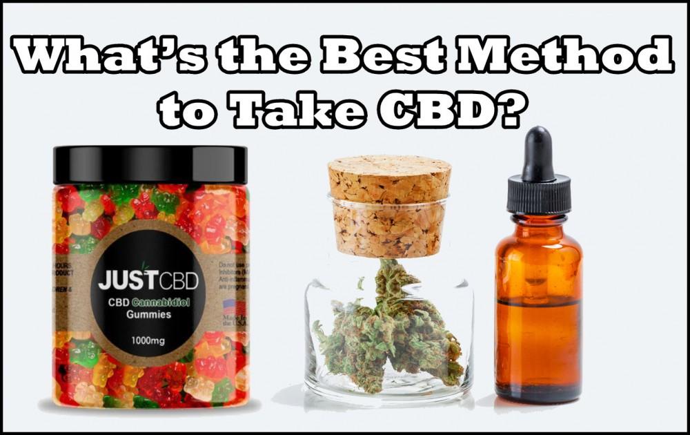 best method to take cbd
