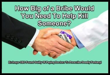big pharma bribes
