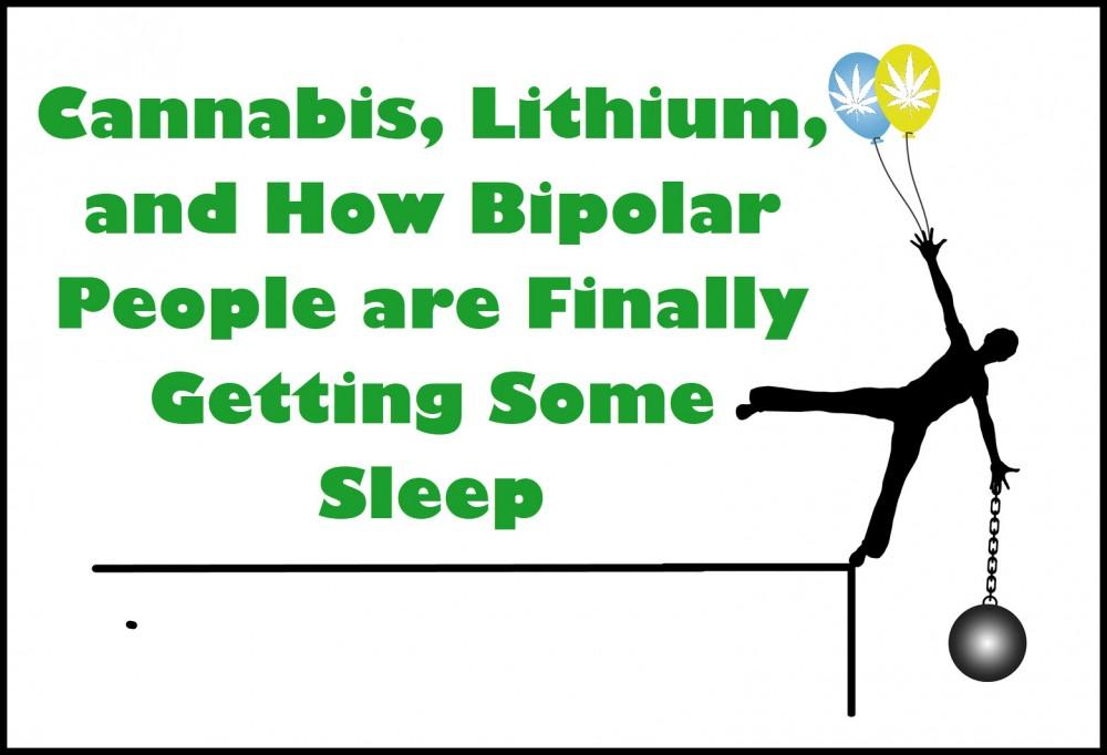 cannabis lithium bipolar people