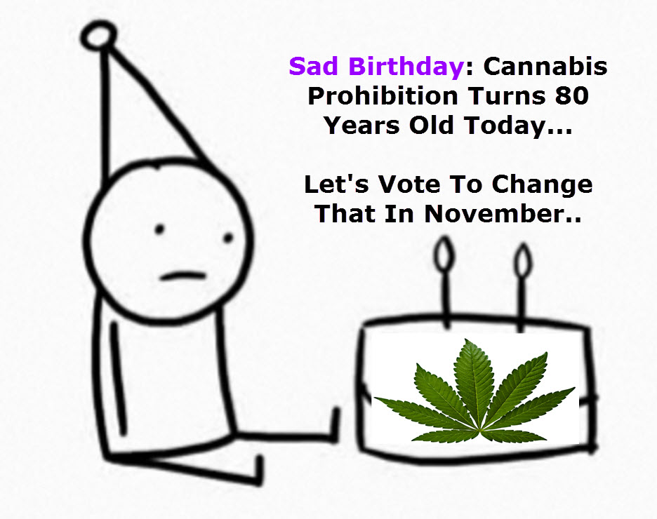 55 Days Until Marijuana Vote History, Get Out And Vote