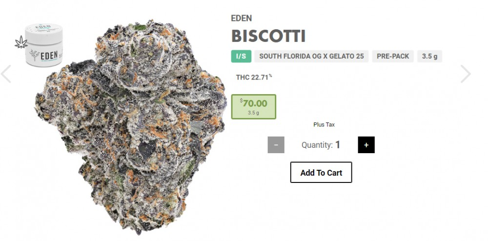 biscotti strain - 10 Best Cannabis Strains from California in 2020