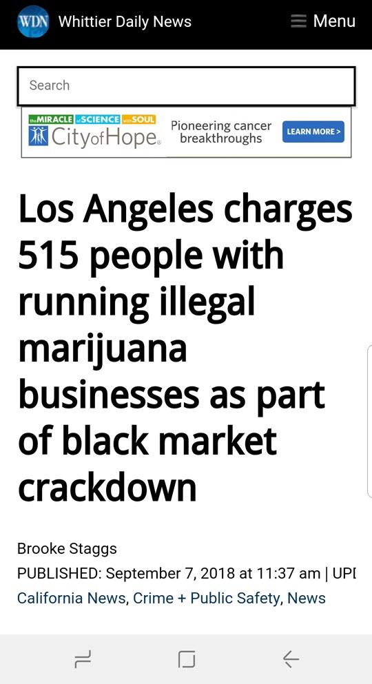 weedmaps illegal listings