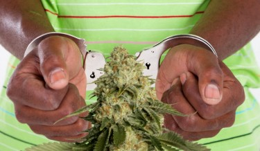 black people arrested for weed