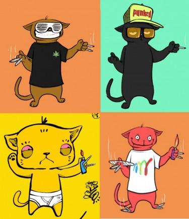 blazed cats NFTs