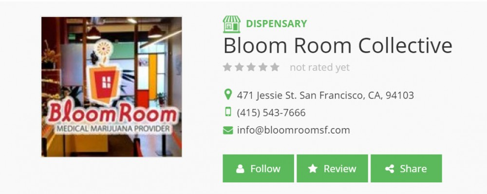 bloom room san fran