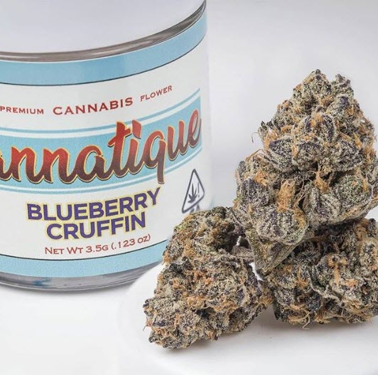 blueberrrycruffinstrain - 10 Best Cannabis Strains from California in 2020