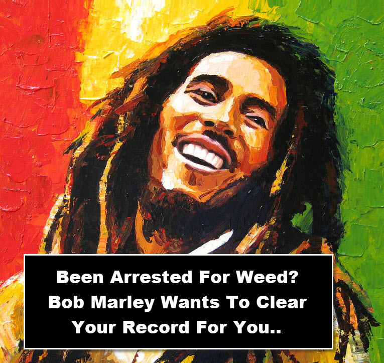 BOB MARLEY CLEANS CRIMINAL CANNABIS RECORDS