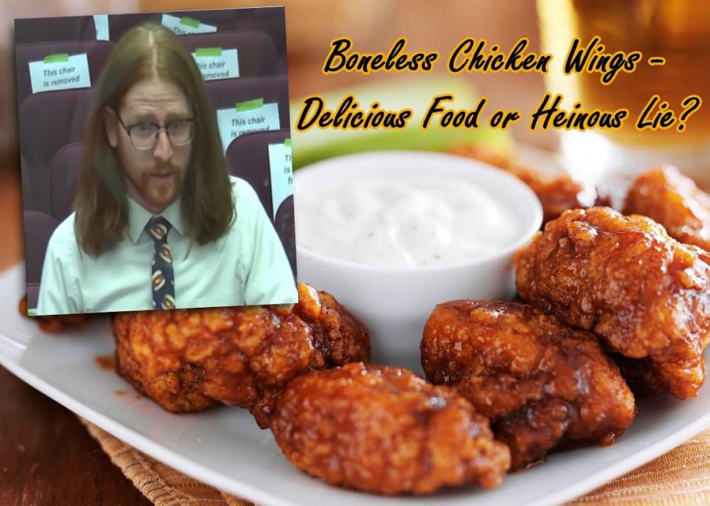 bonelesswingsviralman   Copy 1 - Boneless Chicken Wings – Delicious Food or Heinous Lie?