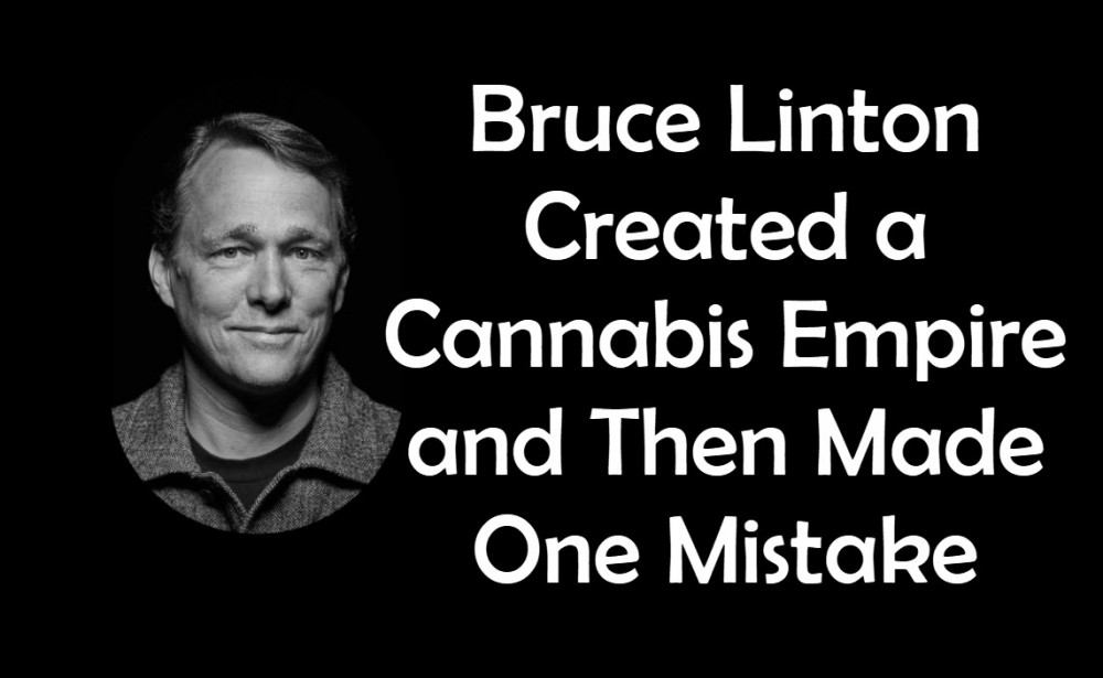 BRUCE LINTON CEO CANOPY GROWTH MISTAKE