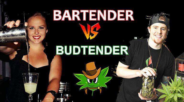 BARTENDER OR BUDTENDER
