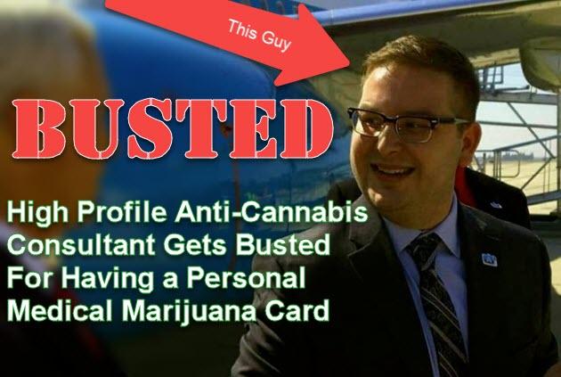 marijuana consultant busted