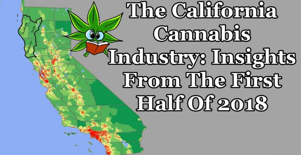 canifornia recreational cannabis trends