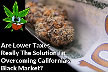 LOWER CANNABIS TAXES IN CALIFORNIA IS KEY