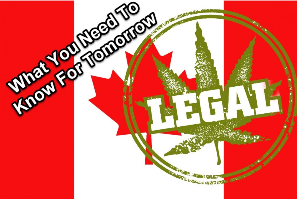 CANADA HAS LEGAL CANNABIS NOW