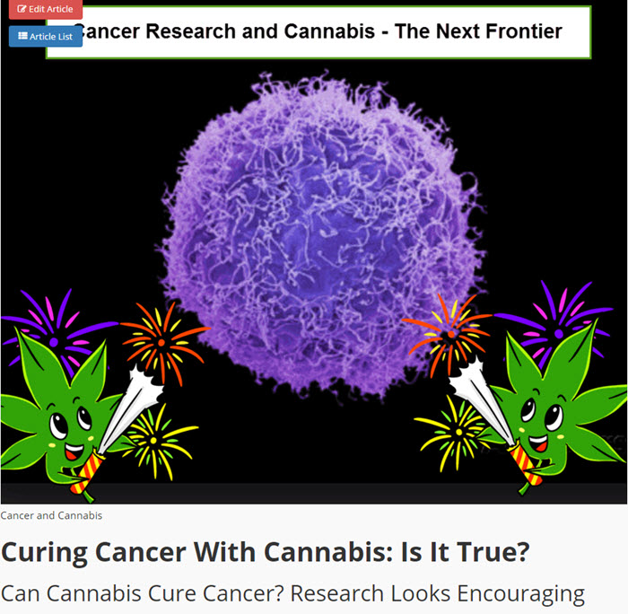 CANCER AND MEDICAL MARIJUANA