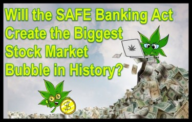 CANNABIS STOCK MARKET BUBBLE