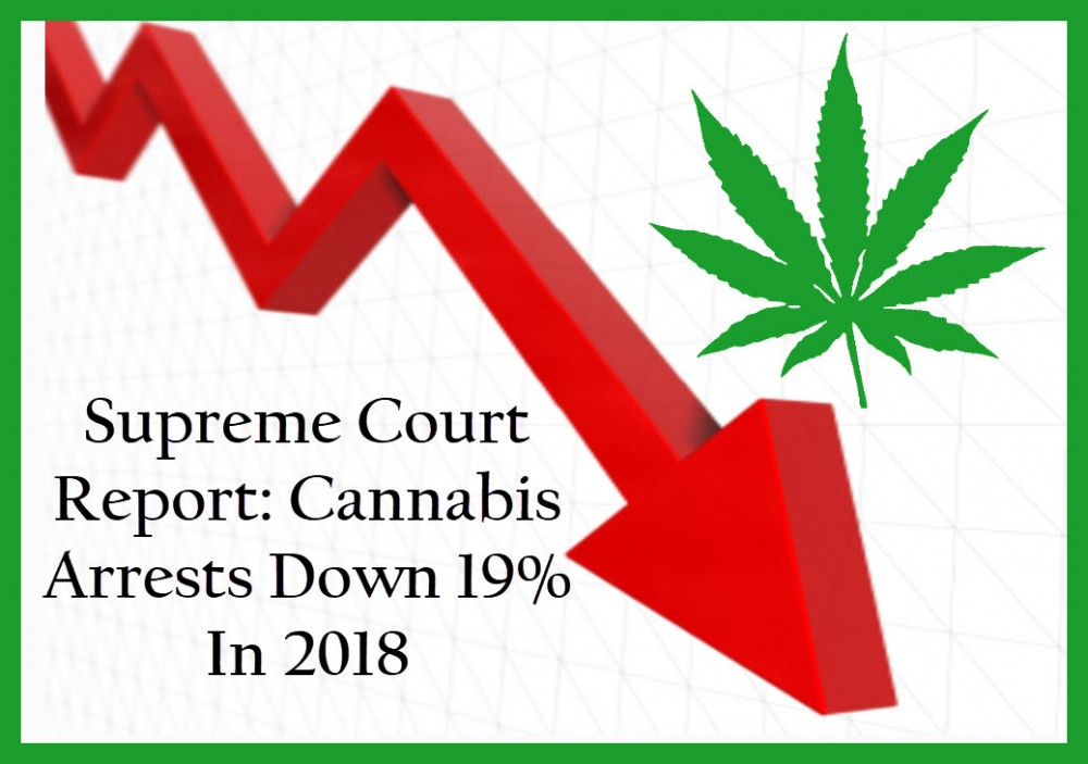 cannabis arrests