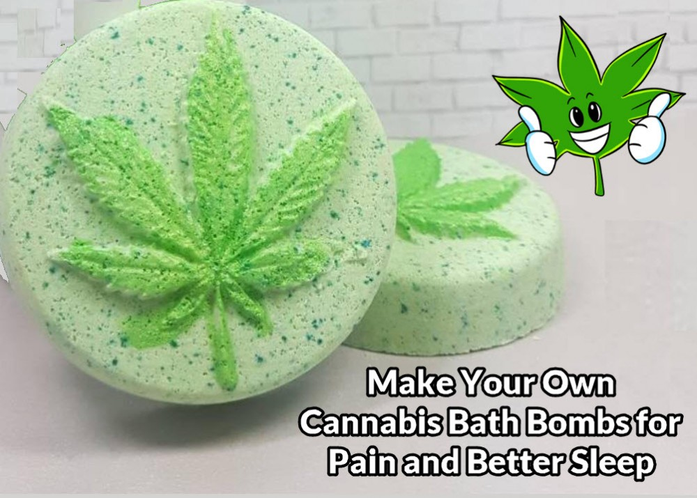 cannabis bath bombs