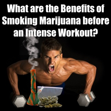 CANNABIS BEFORE A WORKOUT