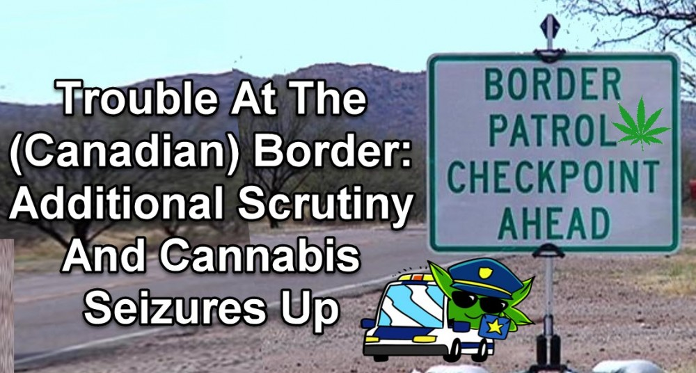 US BORDER CANNABIS SEIZURES