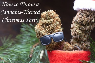 cannabis christmas party