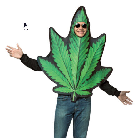 cannabis costume