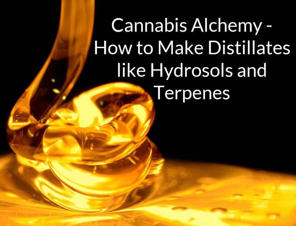 cannabis distillates making them