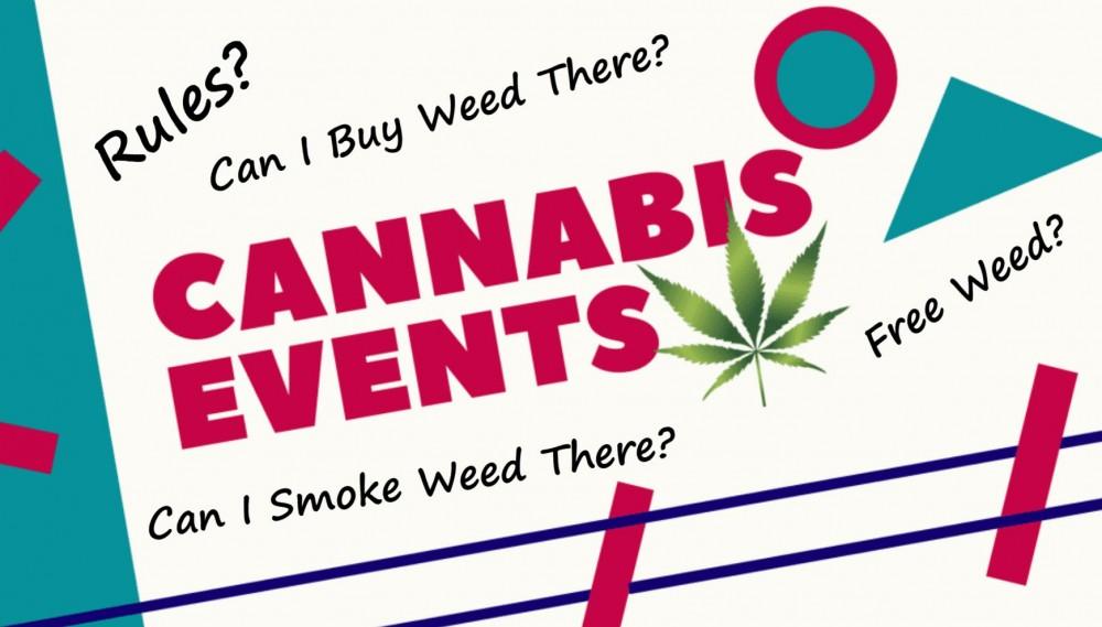 cannabis event schedule