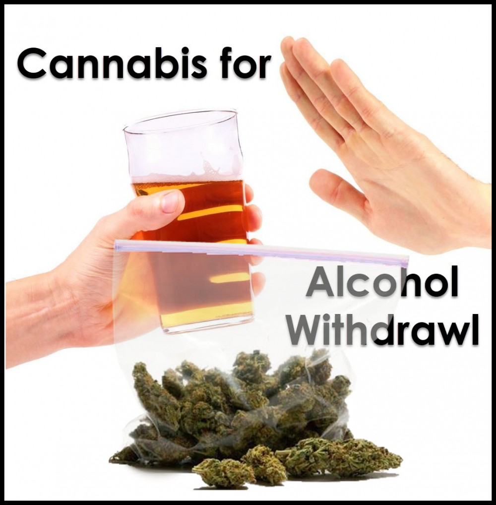 cannabis for alcohol withdrawal