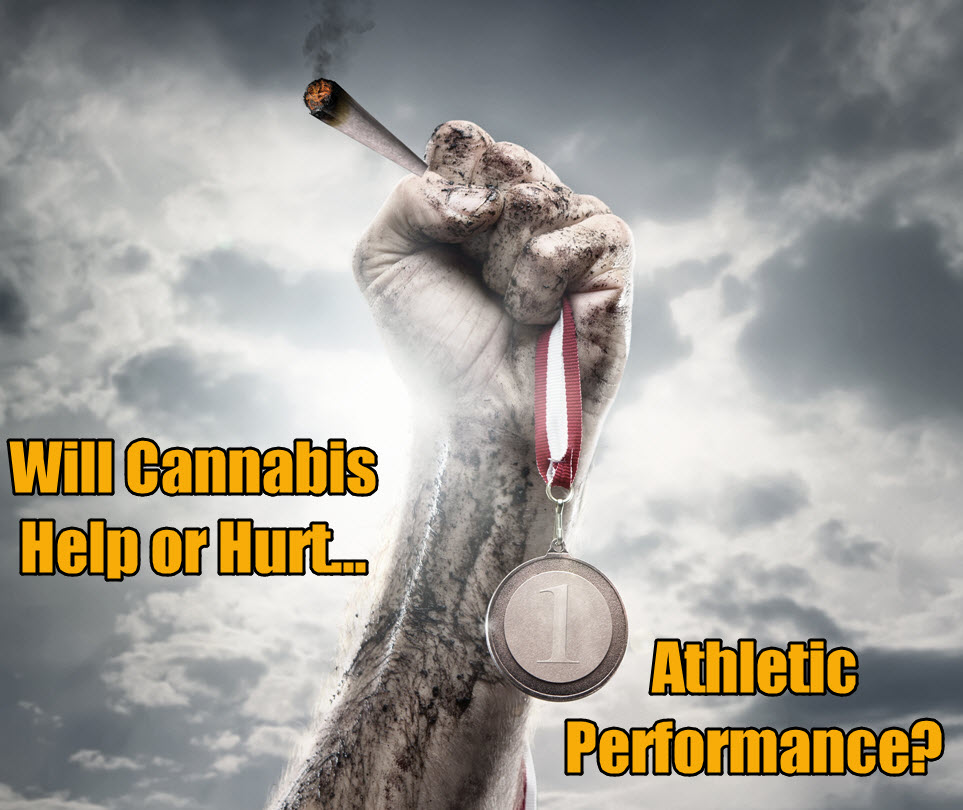 is weed good or bad for athletes