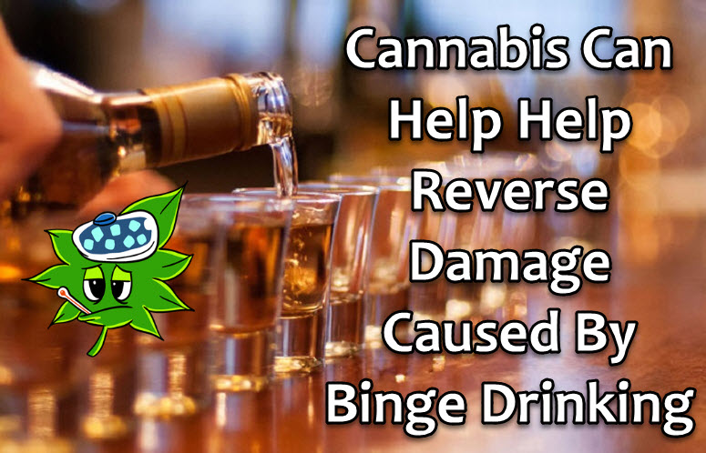 cannabis for binge drinking