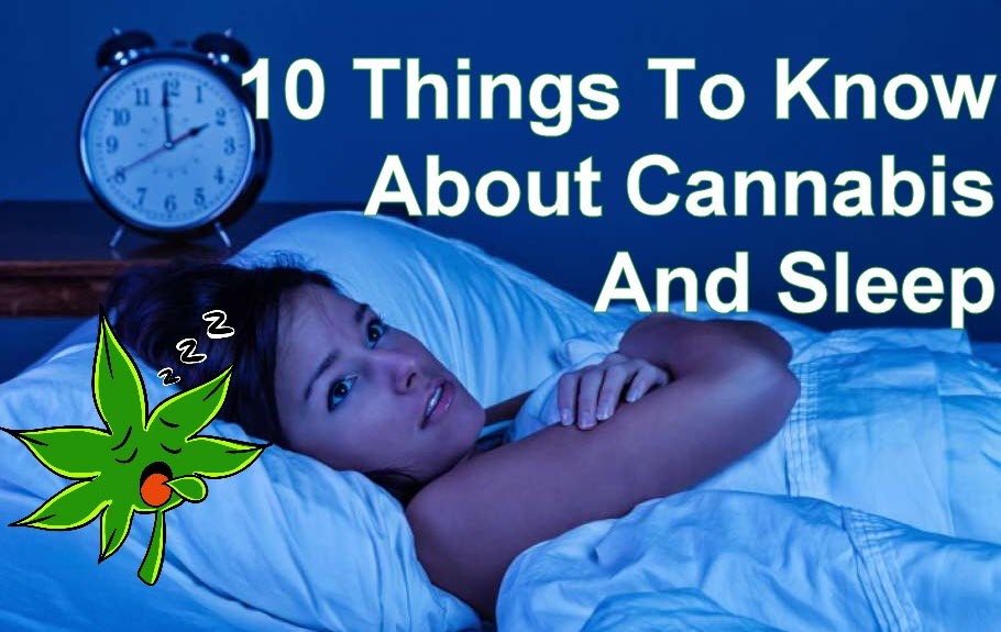 CANNABIS AND SLEEPING AIDS