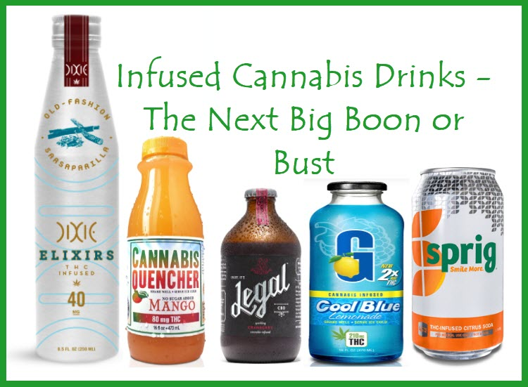 cannabis infused drinks