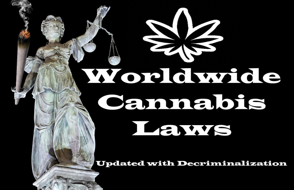 country by country marijuana laws