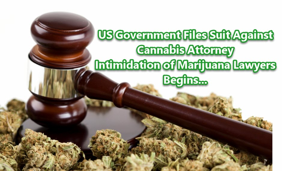 CANNABIS LAWYER SUED BY FEDERAL US