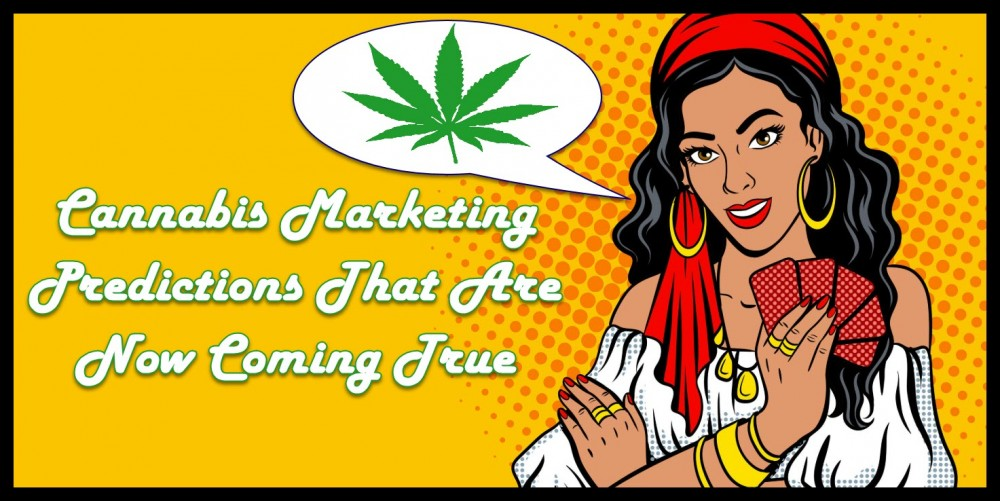 CANNABIS MARKETING PREDICTIONS