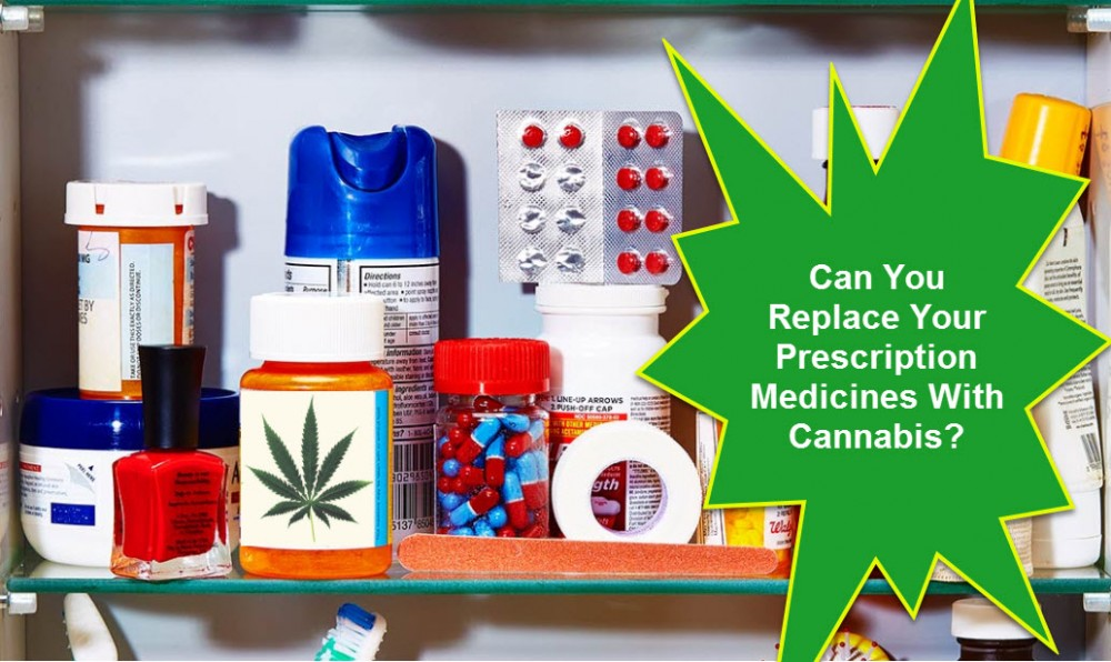 CANNABIS FOR PRESCRIPTION DRUGS
