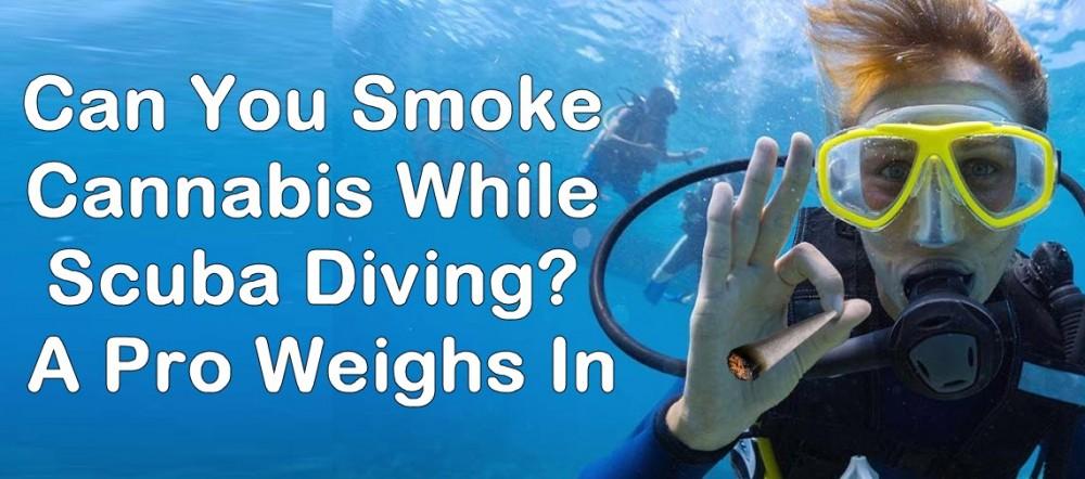 cannabis scuba diving