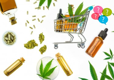 cannabis strains in products