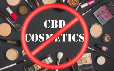 cbd cosmetics ban