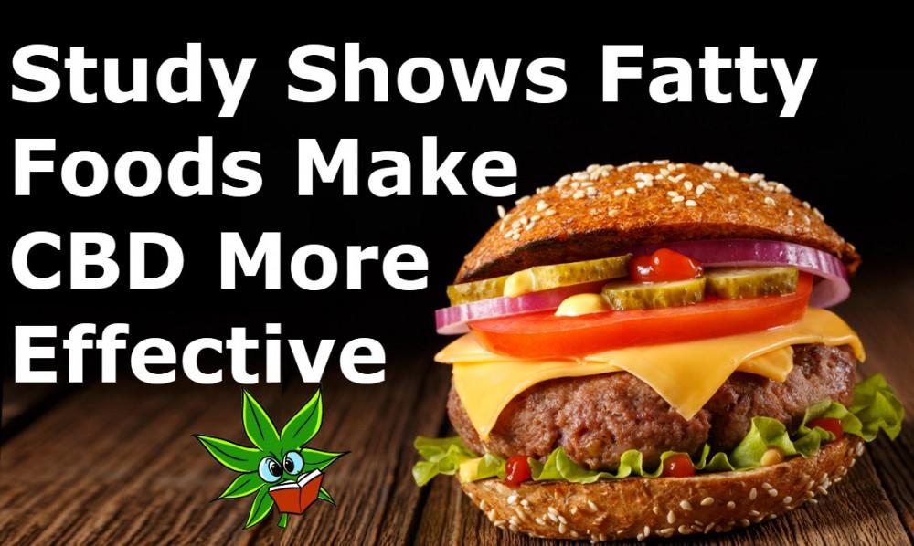 cbd and fatty foods