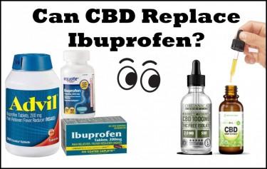 CAN CBD REPLACE IBUPROFEN