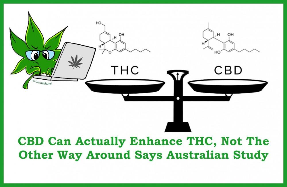 CBD BENEFITS FROM THC ADDITIONS