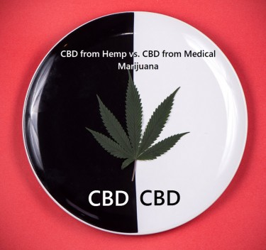 CBD FROM HEMP OR CBD FROM MARIJUANA